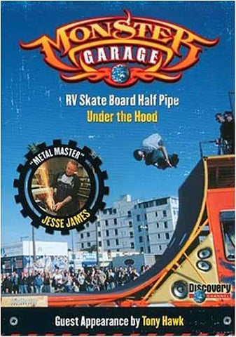 Monster Garage - RV Skate Board Half Pipe / Under the Hood (Discovery Channel) DVD Movie