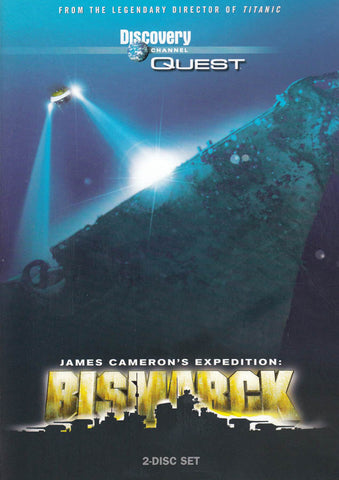 Discovery Channel - Quest - James Cameron's Expedition - Bismarck DVD Movie