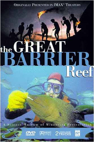 The Great Barrier Reef (Large Format - IMAX) DVD Movie