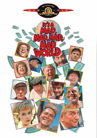 It's a Mad Mad Mad Mad World DVD Movie