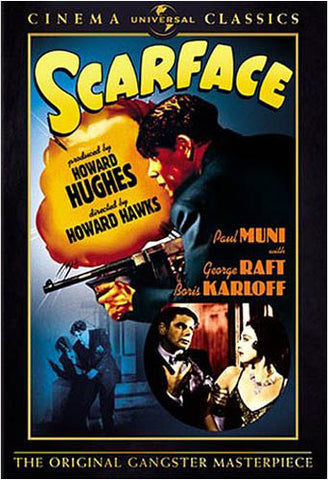 Scarface (Cinema Classics) (Howard Hawks) DVD Movie
