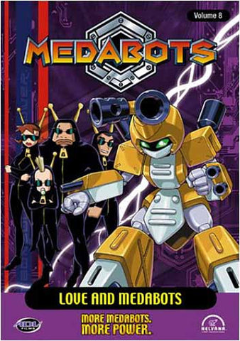 Medabots - Volume 8: Love and Medabots (Japanimation) DVD Movie