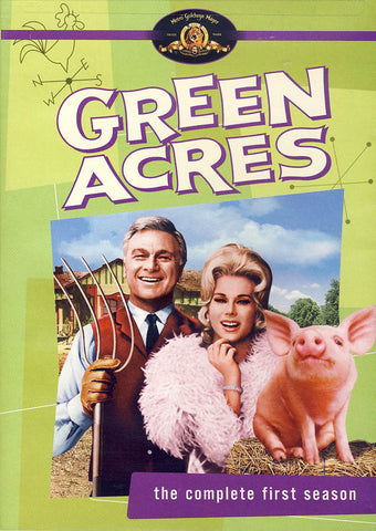 Green Acres - The Complete First Season DVD Movie
