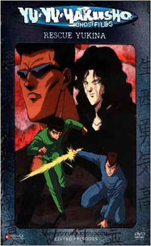 Yu Yu Hakusho Ghost files - Volume 7: Rescue Yukina (Edited Version)(Japanimation) DVD Movie