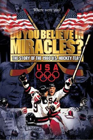 Do You Believe in Miracles The Story of the 1980 U.S. Hockey Team DVD Movie
