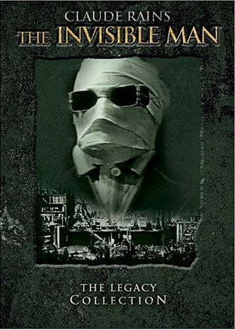 Invisible Man - The Legacy Collection (Boxset) DVD Movie