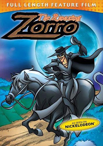 The Amazing Zorro DVD Movie