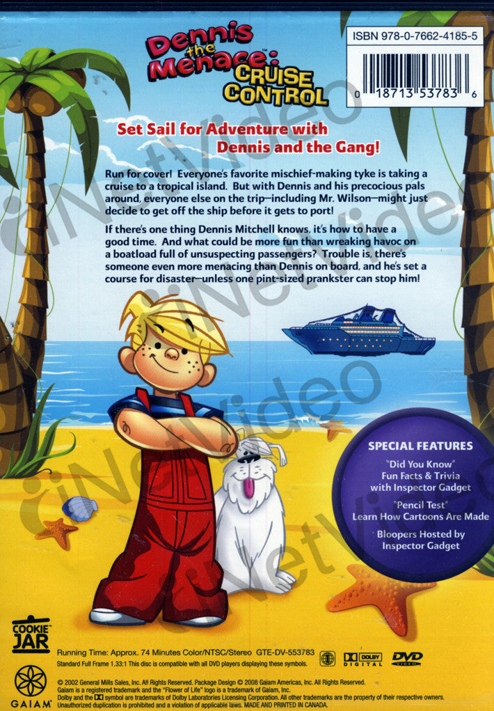 Dennis The Menace Cruise Control On Dvd Movie