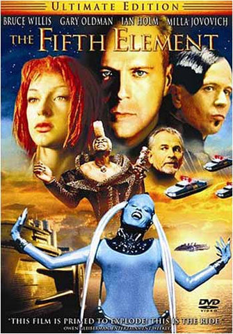 The Fifth Element (Ultimate Edition) DVD Movie