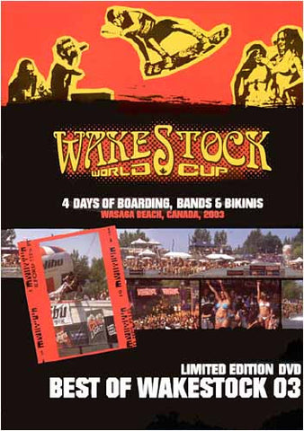 WakeStock World Cup - Best of WakeStock 03( Limited Edition DVD ) DVD Movie