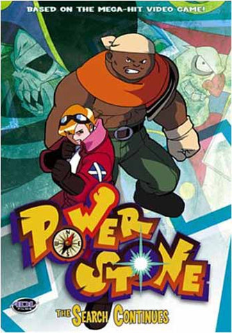 Power Stone - Volume 4: The Search Continues (Japanimation) DVD Movie