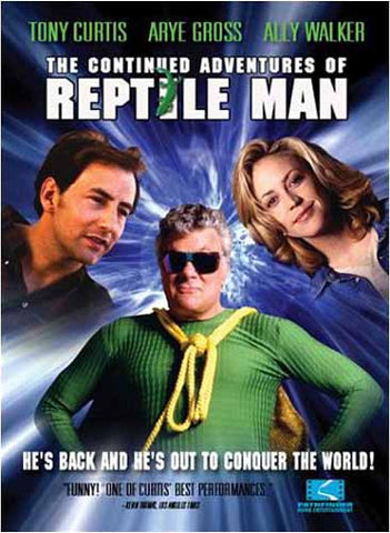 The Continued Adventures of Reptile Man DVD Movie