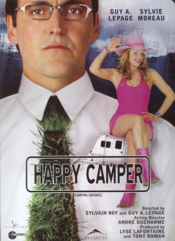 Camping Sauvage / Happy Camper (Bilingual) DVD Movie