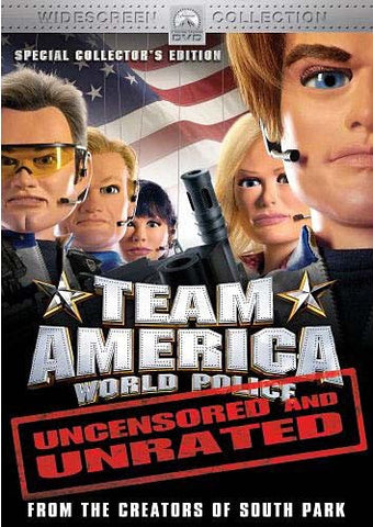 Team America: World Police - Uncensored And Unrated (Widescreen Special Collector's Edition) DVD Movie