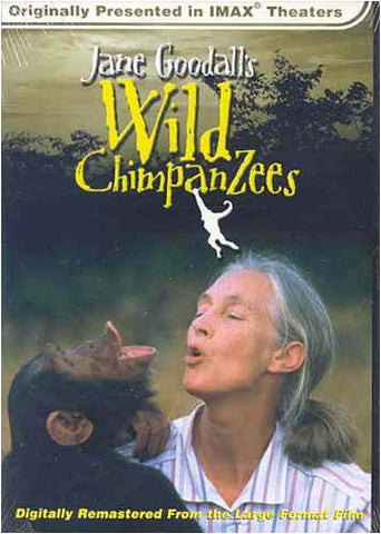 Jane Goodall's Wild Chimpanzees (Large Format - IMAX) DVD Movie