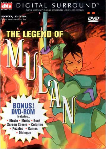 The Legend of Mulan DVD Movie