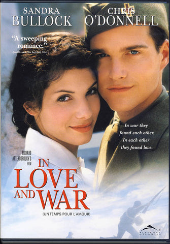 In Love and War (Sandra Bullock) DVD Movie