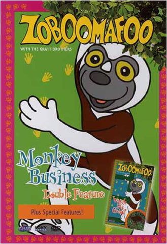 Zoboomafoo (Double Feature) Monkey Business / Watch me Grow DVD Movie