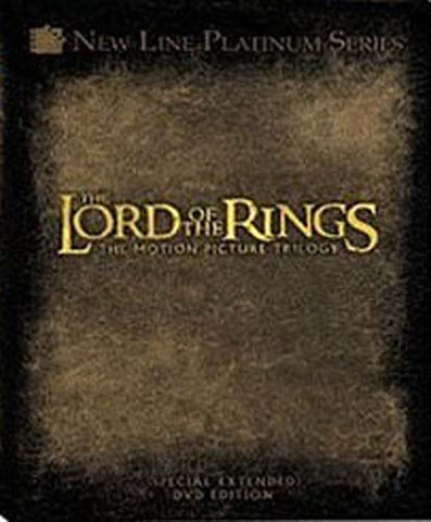 The Lord of the Rings - The Motion Picture Trilogy (Special Extended DVD Edition) (Boxset) DVD Movie