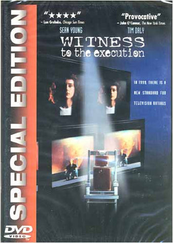 Witness to the Execution DVD Movie