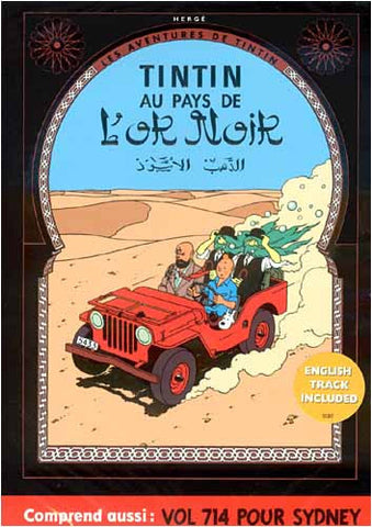 Les Aventures de Tintin: Au Pays de l Or Noir / Vol 714 pour Sydney - Full Screen DVD Movie