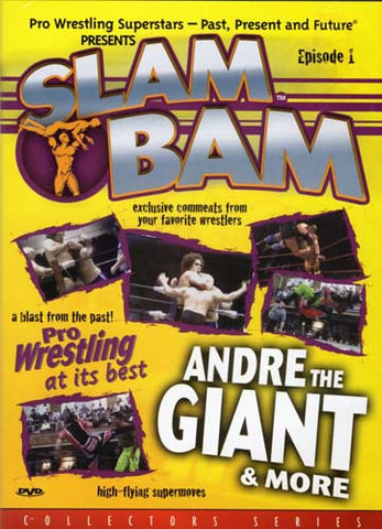 Slam Bam - Episode 1 - Pro Wrestling at its bestAndre the Giant and More (Collector 's series) DVD Movie