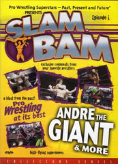 Slam Bam - Episode 1 - Pro Wrestling at its bestAndre the Giant and More (Collector 's series)