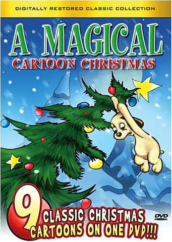 A Magical Cartoon Christmas DVD Movie