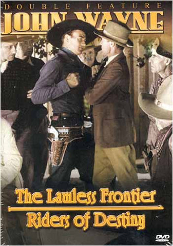 John Wayne - Lawless Frontier / Riders Of Destiny (Double Feature) DVD Movie