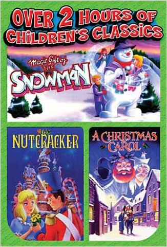 Magic Gift of the Snowman / Nutcracker / A Christmas Carol DVD Movie