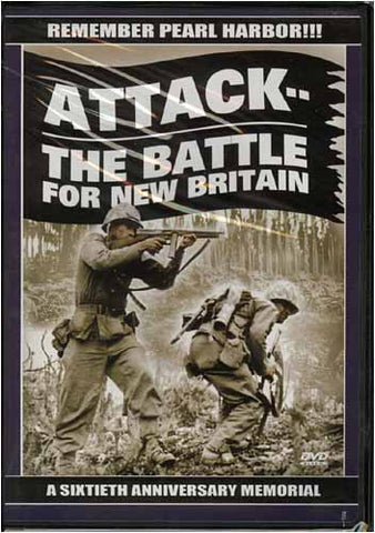 AttackThe Battle for New Britain (A Sixtieth Anniversary Memorial) DVD Movie