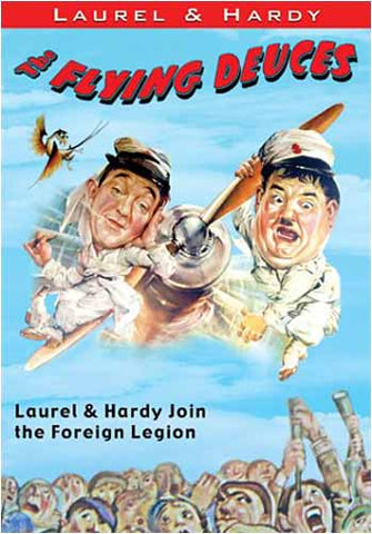 Laurel and Hardy - The Flying Deuces (Join the Foreign Legion) DVD Movie