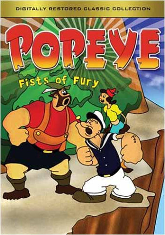 Popeye - Fists of Fury(Originally Restored Classic Collection) DVD Movie