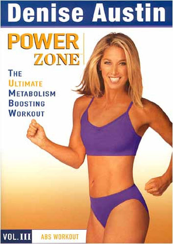 Denise Austin - Power Zone Vol. 3 - Abs Workout DVD Movie