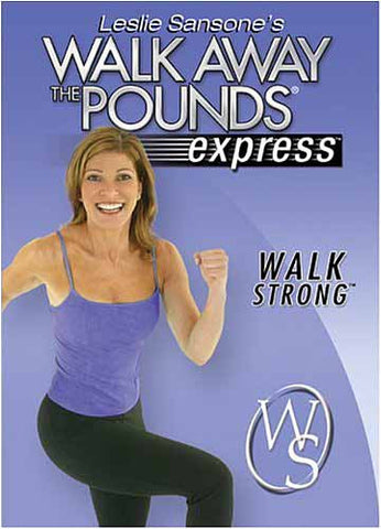Leslie Sansone - Walk Away the Pounds Express - Walk Strong DVD Movie