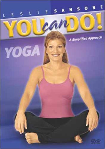 Leslie Sansone - You Can Do Yoga DVD Movie