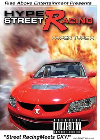 Hype Street Racing - Hyper Type A DVD Movie