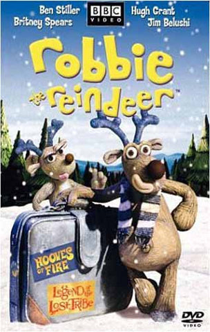 Robbie the Reindeer - Hooves of Fire / Legend of the Lost Tribe DVD Movie