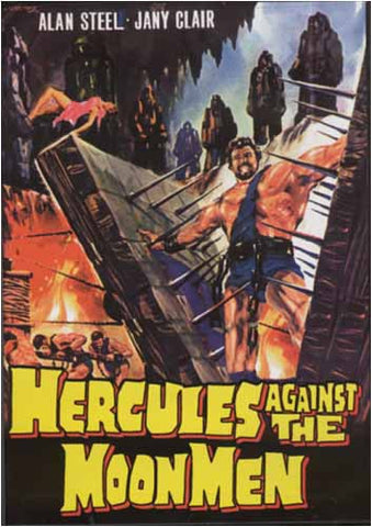 Hercules Against the Moon Men DVD Movie