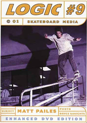 Logic Skateboard Media #9 DVD Movie