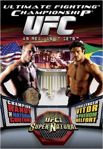 Ultimate Fighting Championship UFC 46 - Supernatural DVD Movie