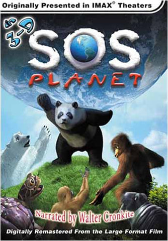 SOS Planet (3D IMAX Large Format) DVD Movie