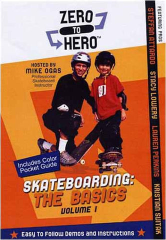 Skateboarding - The Basics, Vol. 1 - Zero to Hero DVD Movie