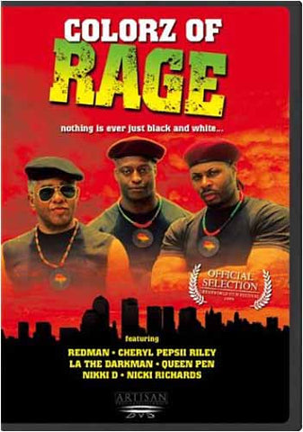 Colorz of Rage DVD Movie