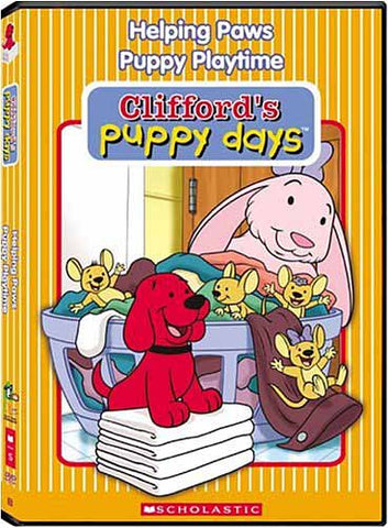 Cliffords Puppy Days (Helping Paws / Puppy Playtime) DVD Movie