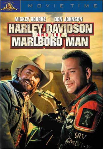 Harley Davidson and the Marlboro Man DVD Movie