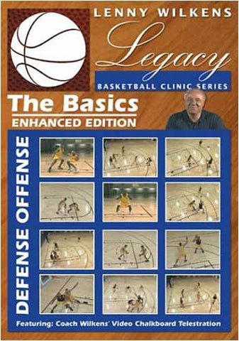 Lenny Wilkens Legacy Basketball Clinic Series - The Basics DVD Movie