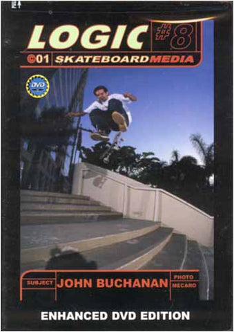 Logic Skateboard Media # 8 DVD Movie