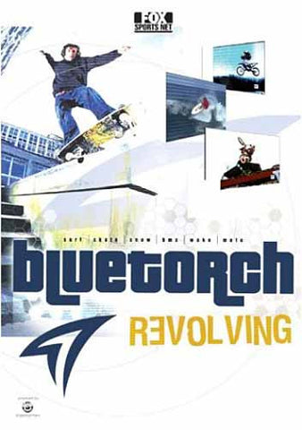 Bluetorch Revolving DVD Movie