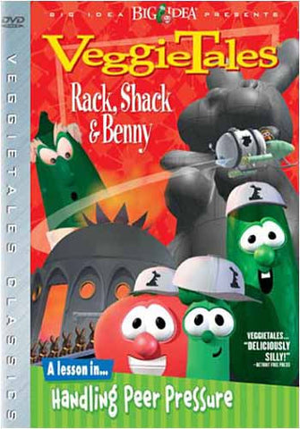 VeggieTales - Rack, Shack and Benny DVD Movie